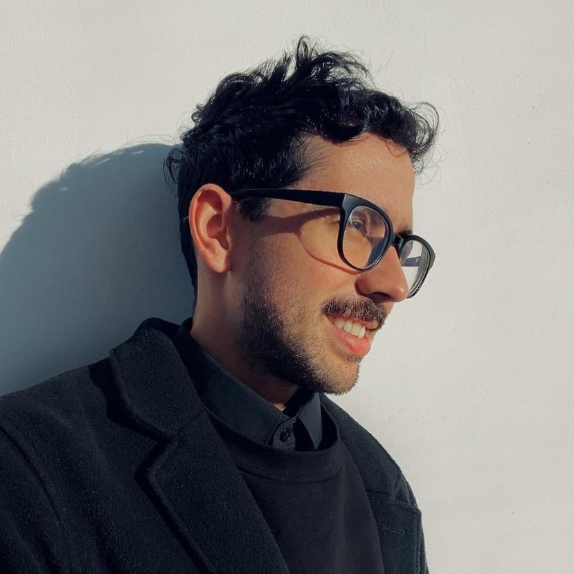 Lionel Cruet, artista puertorriqueño radicado en Nueva York.