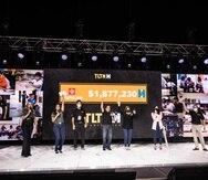 El Teletón de SER de Puerto Rico contó con la animación de talentos de todos los canales de televisión, así como actuaciones musicales y mensajes especiales.