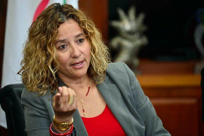 Rosario rompió barreras en el deporte de la Isla al convertirse en la primera mujer en presidir el Comité Olímpico. (GFR Media)