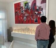 Dependiendo del estilo de la casa, les aconsejo que escojan distintos tipos de obras de arte.