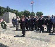 Monumento a los caídos en la Segunda Guerra: rectificando un olvido