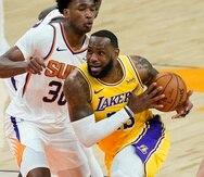 LeBron James buscará ser bicampeón con los Lakers en esta temporada.