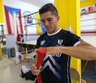 Henry Lebrón realizó parte de su preparación en el gimnasio Atlantic Boxing Club, en Aguadilla.