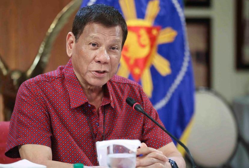 Rodrigo Duterte, presidente de Filipinas. (AP)