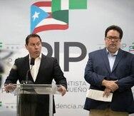 Juan Dalmau y Denis Márquez denunciaron un supuesto acuerdo entre populares y novoprogresistas para aprobar enmiendas al Código Electoral.