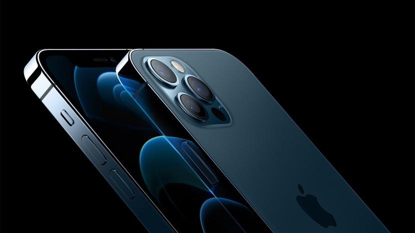 Imagen del iPhone 12 Pro. En el nuevo iPhone, los emsamblajes de lentes podrían permanecen dentro del cuadrado de cristal y no protuberar, como en el modelo actual y versiones anteriores.