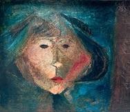 """""""Niña"""", obra de Julio Rosado del Valle, forma parte de la exposición colectiva de Obra Galería Alegría."""