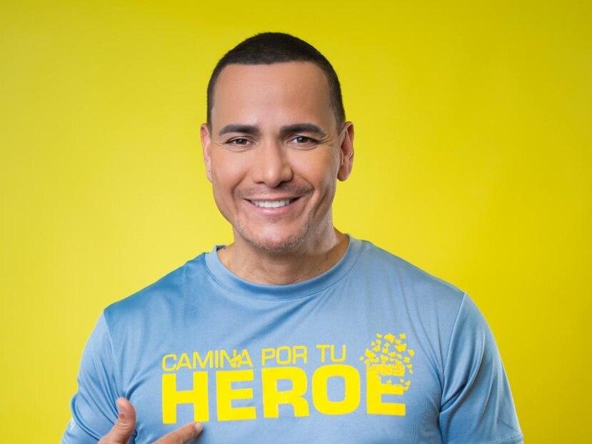"""El cantante Victor Manuelle participará del evento """"Camina por tu héroe"""" para recaudar fondos a beneficio de los pacientes de Alzheimer."""