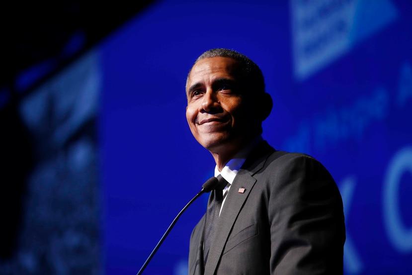Barack Obama llega a la lista a Hot R&B Songs de Billboard. (AP)
