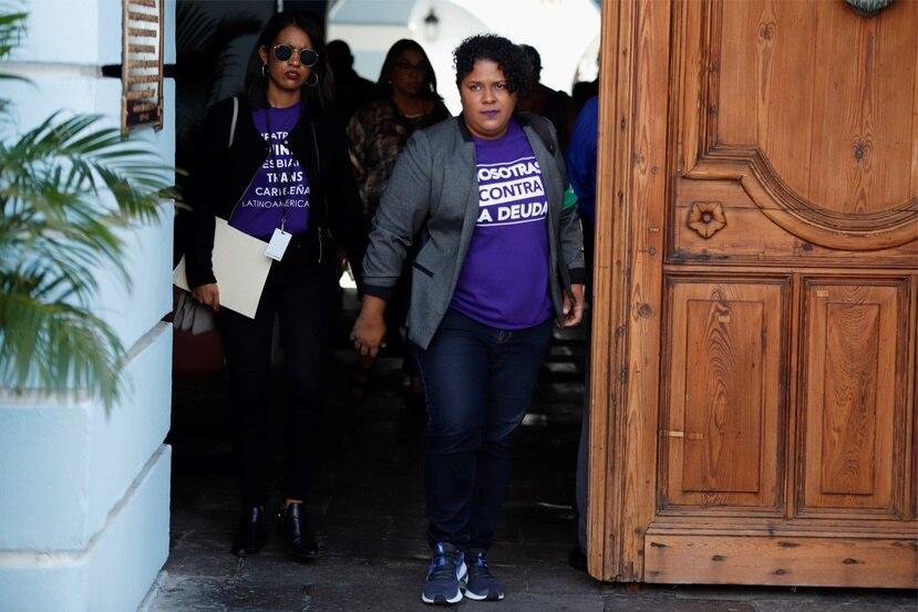 La manifestación convocada por la Colectiva Feminista iniciará su marcha a las 4:00 de la tarde, desde el frente del edificio Seaborne en la Milla de Oro. (AP)