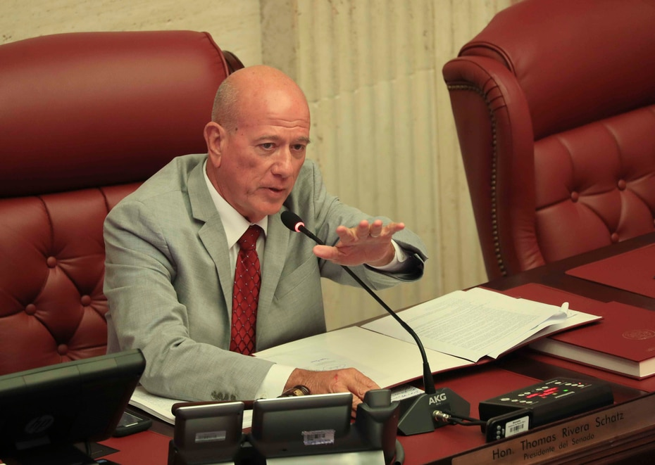 El senador Larry Seilhamer. Contactado por este diario, dijo que no mencionaría si está o no disponible para el cargo para no abonar a especulaciones. (GFR Media)