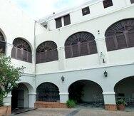Palacio Arzobispal de la Iglesia Católica en San Juan.