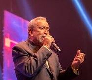 Andy Montañez en el Centro de Bellas Artes Luis A. Ferre. (Foto: Alejandro Granadillo)
