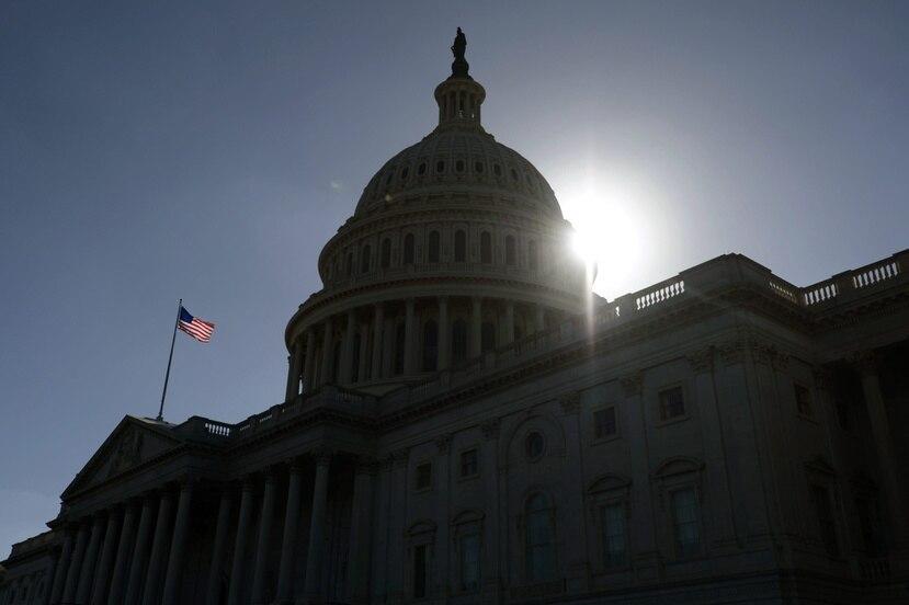 Fachada del Capitolio de Estados Unidos, en Washington D.C. (EFE)