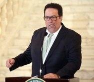 En la foto, el representante Denis Márquez, del Partido Independentista Puertorriqueño (PIP).