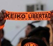 La excarcelación de Keiko Fujimori no sólo tendrá un impacto en la probable reconciliación familiar sino especialmente en las elecciones parlamentarias del próximo 26 de enero. (AP/Martin Mejia)