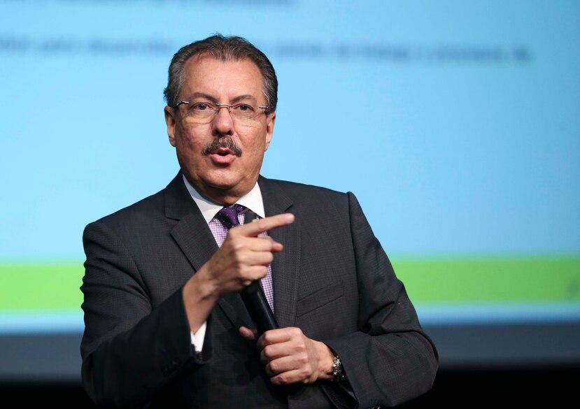 """""""No tengo problema con ninguna exención, lo que tengo problemas es que la gente no sepa cuánto le cuesta"""", dijo el secretario de Hacienda, Juan Zaragoza."""