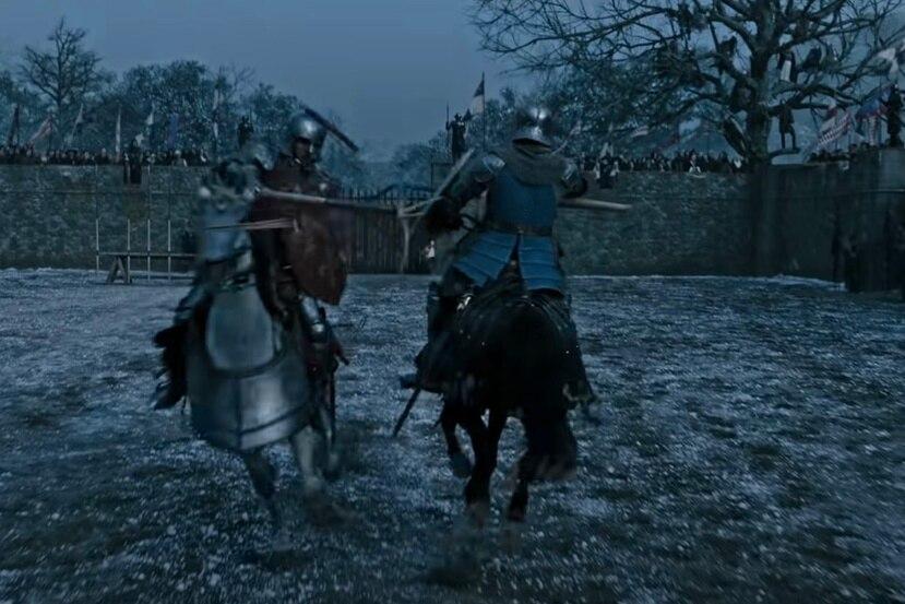 """Matt Damon y Adam  Driver protagonizan la película """"The Last Duel""""'."""