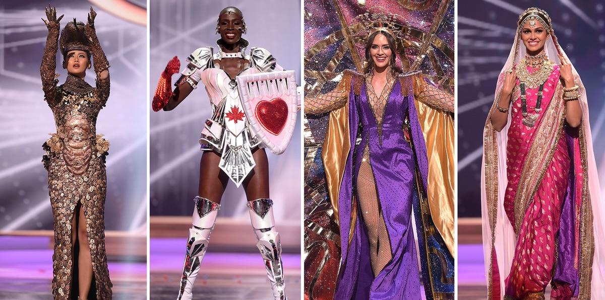 Estos trajes típicos llamaron la atención en Miss Universe