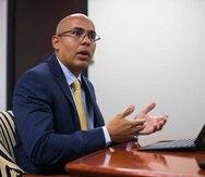 Carlos Rivera Santiago, secretario del Trabajo.