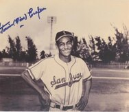 Foto de Nino Escalera suministrada por la Liga de Béisbol Profesional Roberto Clemente.